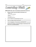 Learning Walk Observation Form