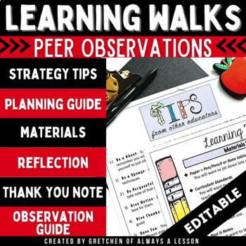 Learning Walks: Effective Peer Observations