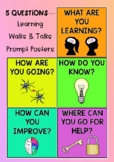 Learning Walks & Talks - 5 Critical Questions Posters