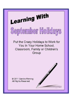 Learning With September Holidays