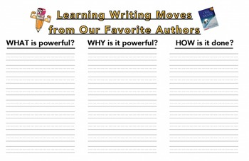 Learning Writing Moves from Our Favorite Authors