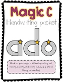 Learning Your Letters: Magic C Handwriting Workbook