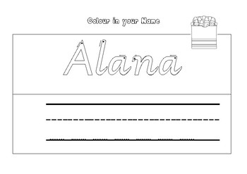 Editable Learn Your Name Kit - modern victorian cursive font