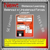 Learning about Balanced and Unbalanced Forces Distance Lea