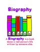 Learning about Biography and Autobiography