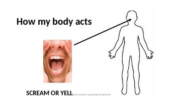 Learning about Body Signals; How My Body Feels When Worried