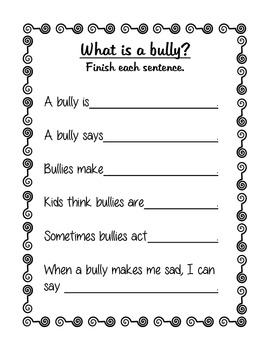 Learning about Bullies