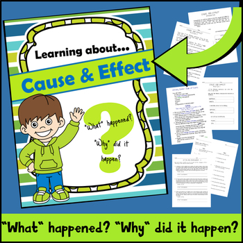 Learning about Cause and Effect (Reading Comprehension for 3rd-5th)