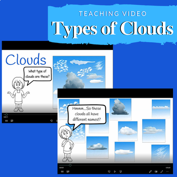 Learning about Clouds Video and Activities for Google Apps - Bundle #2
