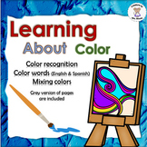 Learning about Color & Color Words