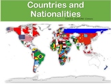 Learning about Countries and Nationalities for ESL, LINC,