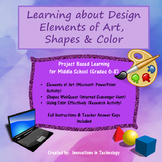 Learning about Design - Elements of Art, Shapes & Colors