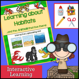 Habitats Interactive (Desert, Rainforest, Wetlands, Ocean, Forest and others!)