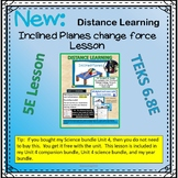 Learning about Inclined Planes distance learning companion