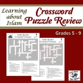 Learning about Islam: Crossword Puzzle Review (with answer key)