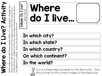 Learning about Ohio's Geography - 3 Different Activities - Interactive Notebook