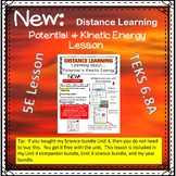 Learning about Potential and Kinetic Energy Distance Learn