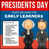 Presidents Day Learning for Early Learners