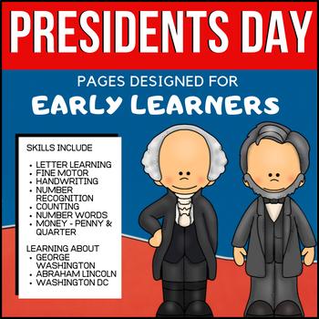 Learning about Presidents for PreK - Kindergarten (Preside