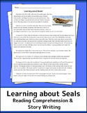 Learning about Seals! Informational Text, Reading Comprehe