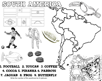 Learning about South American Countries