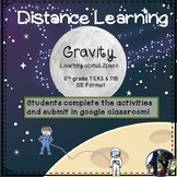 Learning about Space: Gravity 6.11B  Distance Learning