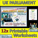 Learning about UK Parliament
