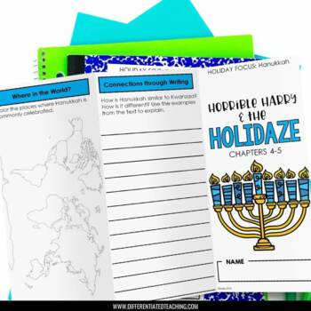 Horrible Harry & the Holidaze Foldable Novel Study Unit