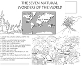 Learning about the 7 Natural Wonders of the World