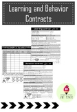 Learning and Behavior Contracts