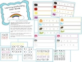 Learning and Building Color Words