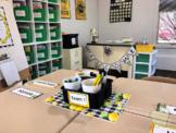 Learning and Lemons Theme Organized Teacher's Tool Kit + D