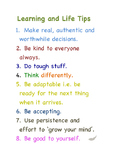 Class Rules - Learning and Life Tips - a powerful alternat