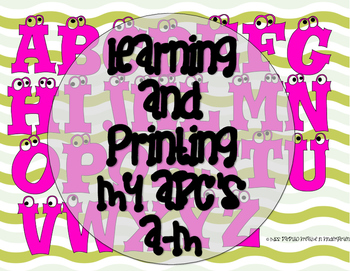 Printing and Letter Recognition A-M