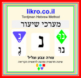 Learning and exploring the letter  נ  (nun)   Tordjman Heb