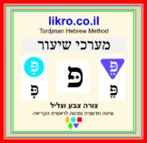 Learning and exploring the letter פ (pey)   Tordjman Hebre