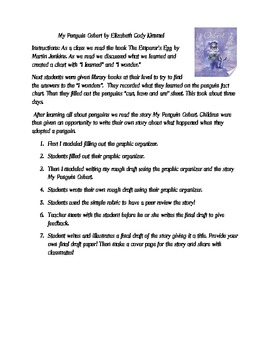Learning and writing about Penguins: My Penguin Osbert by