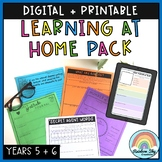 Learning at Home Pack - Year 5 - 6: Digital & Paper Versio