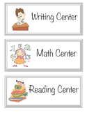 Learning center labels **Updated**