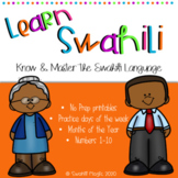 Learn Swahili: Days of the Week, Months, Numbers, Family M