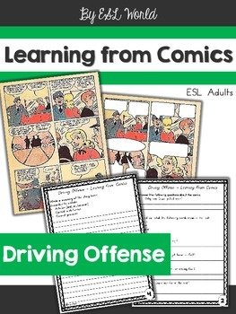 Learning from Comics - Driving Offense