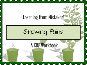 Learning from Mistakes | A CBT Workbook
