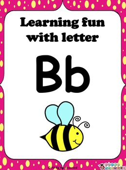 Learning fun with letter Bb