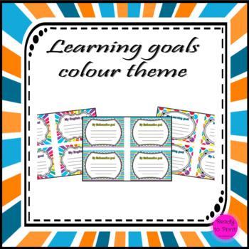 Learning goals - colour theme