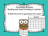 Learning how to read a calendar