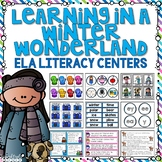 Winter Language Arts Literacy Centers