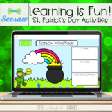 Learning is Fun! St. Patrick's Day Activities for Seesaw