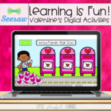 Learning is Fun! Valentine Activities for Seesaw
