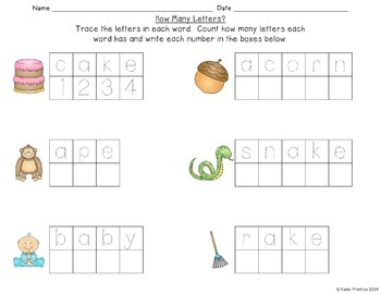 Learning is Fun!  {a math and literacy resource for early elementary}