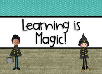 Learning is Magic-Classroom Decor Bundle